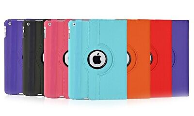 Smart 360 Rotating Stand Magnetic PU Leather Cover Case for All iPad Models