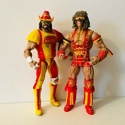 Mattel WWE Elite Ultimate Maniacs Tag Team Action Figures Defining Moments WCW