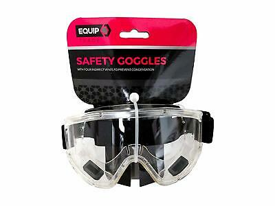 Ultra Clear Safety Goggles - Safety Glasses. Anti Fog