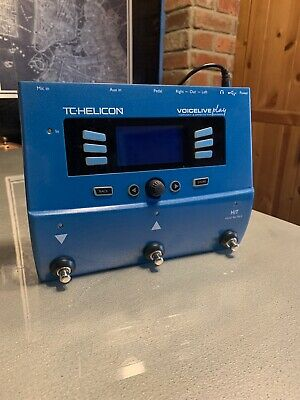 TC Helicon VoiceLive Play Vocal Effects StompBox