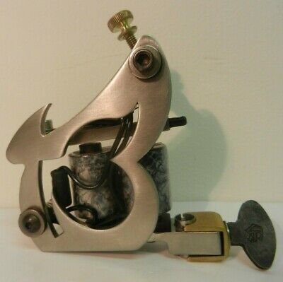 stainless steel I.T.S lucky 13 tattoo machine shader