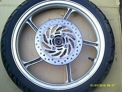 honda vision 110 front  wheel with tyre 2017 onwards n ew model 16 inch