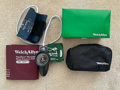 Welch Allyn Sphygmomanometer DS58 Set With Cuffs 9-12