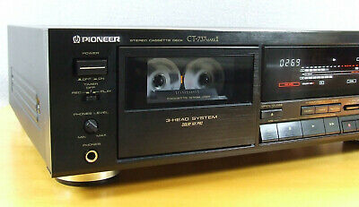 "Pioneer Ct-737 Mk Ii, Referenzklasse,3-Head, New Belts & Idler ""Mint Condition"""