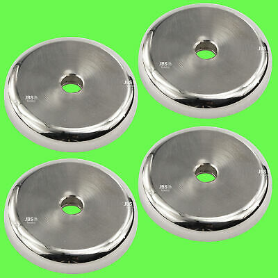 (4 Pcs) Pot Magnet Neodymium Ø 40 mm Strong Holding Strength / Hole+Reduction