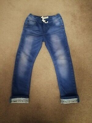 Boys next blue car denim jeans age 5-6