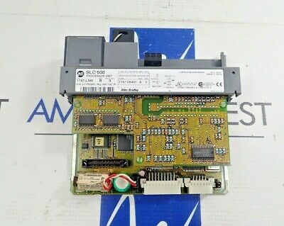 Allen Bradley 1747-L541  Processor Unit Slc 500 Processor Unit With Key