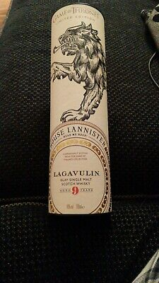 Game Of Thrones House Of Lannister Whisky, Lagavulin 9 Year Old