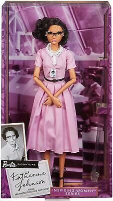 Barbie Inspiring Women Series Katherine Johnson Doll Mattel DEALS