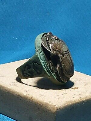 Pharaonic ring very beautiful and rare ancient Egypt civilization.. 4