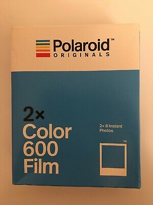 Polaroid Originals x2 Color Instant Film DOUBLE PACK for 600 636 OneStep Sealed