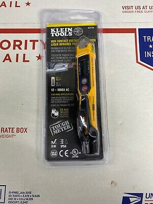 Klein Tools Non-Contact Voltage Testerwith Laser Infrared Thermometer.Ncvt-41r