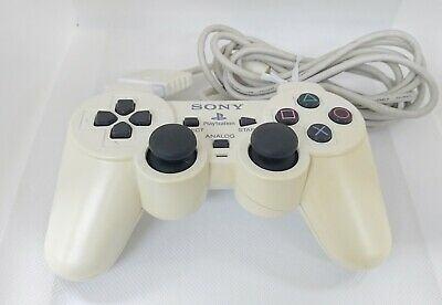 Sony PlayStation 2 Controller PS2 White Official Genuine OEM SCPH-10010
