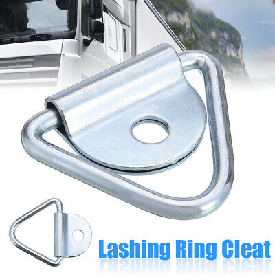 1x Lashing Ring Staple Cleat Durable Tie Down Point Load Securing Anchor Point
