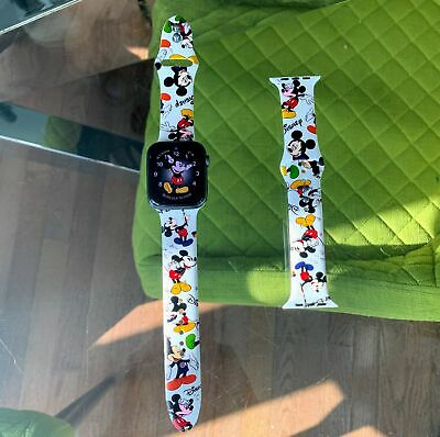 Apple Watch Mickey patterned soft silicone band all series