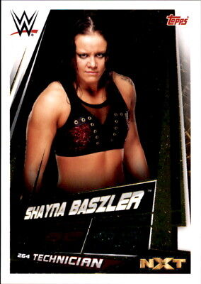 Topps Slam Attax univers 2019 Shayna baszler Champion carte