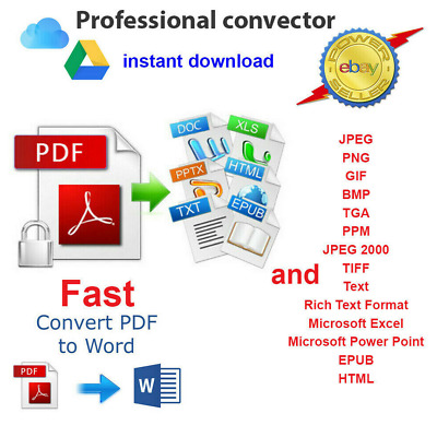 Pdf Converter | Pdf To Word Excel & Other Formats Instantly | Windows *Download*