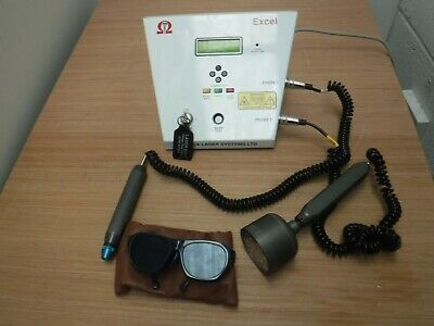Omega Excel Laser THERAPY LLLT Machine with Cluster and acupuncture probe