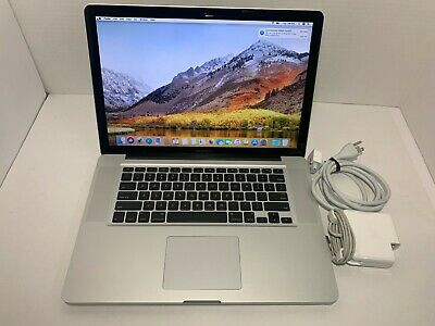 "Apple MacBook Pro A1286 Intel Core i5-540M 2.4GHz 8GB 500GBHDD MC371LL/A 15""2010"