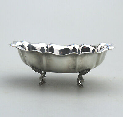 Antique 925 Sterling Solid Silver A pretty Sweetmeat / BonBon Dish C.1900