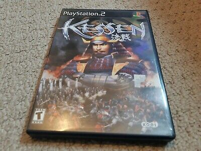Kessen (Sony PlayStation 2, 2000) PS2  complete