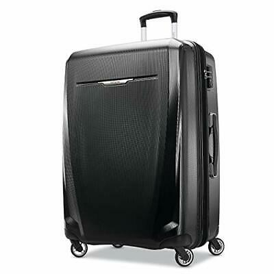 Samsonite Winfield 3 DLX Hardside Luggage with Spinner (Black|Checked-large)