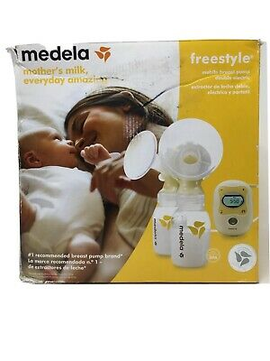 Medela Freestyle Mobile Double Electric Breast Pump New