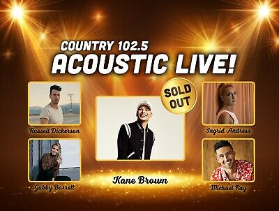 Country 102.5 Acoustic Live: To Benefit Floating Hospital For Children(2)tickets