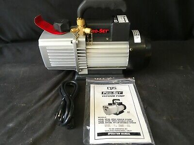 CPS Vacuum Pump VP6D 2 Stage 6cfm