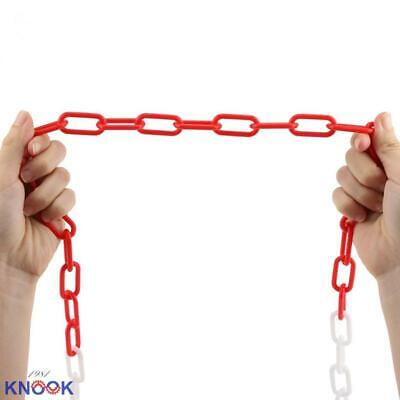 Plastic Chain Links Yellow Chain Link Plastic Chains Halloween Chain Crowd Control Chain Yellow 25/' Ft x 6mm BISupply