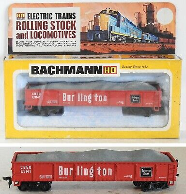 Set Ore Car Burlington Northern 4 Wagen Spur H0 58052 NEU