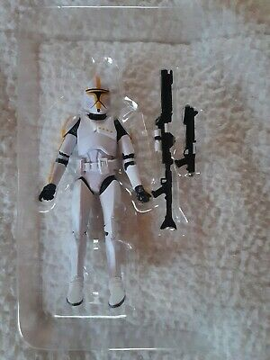 Star Wars The Black Series Amazon Exclusive YELLOW PHASE 1 CLONE TROOPER Mint