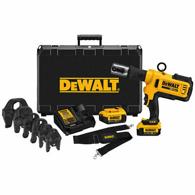"DeWalt DCE200M2K 20V MAX Copper Pipe Crimp Tool Kit with 1/2"" - 2"" Jaws"