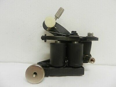 unimax strongman tattoo machine with lever chuck vice - shader - wes wood