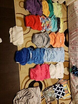 33 freetime bumgenius used cloth diapers all in one lot