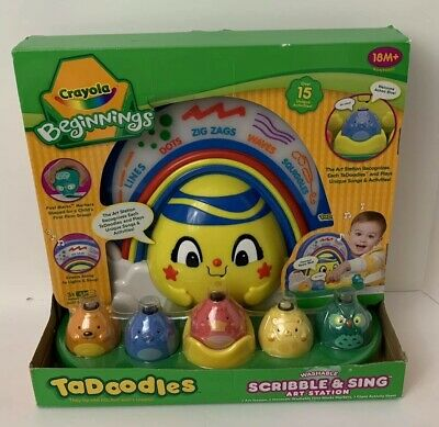 Crayola-Beginnings-Tadoodles-Washable-First-Marks-Sandy-Shore-Turtle /& Whale