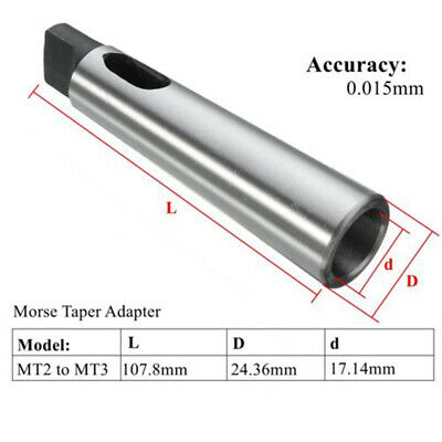 Cône Morse Extension Sleeve Engineering Perceuse Manche MT 2-2//2-3//1-2//3-4//