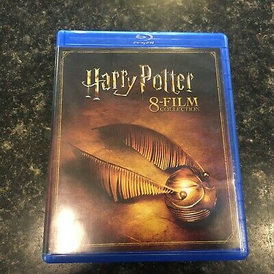 Harry Potter Complete 8-Film Collection (Blu-ray) FAST SHIPPING
