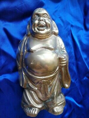 Chinese Antique Large  Brass Buddah .