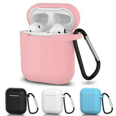 Hot Silicone Protective Cover Slim Case For Apple AirPods Earphone Charger Cases