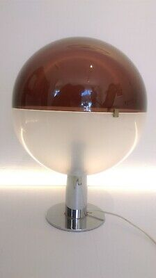 LAMP  globe spherical  table lamp as guzzini MARTINELLI LUCE space age