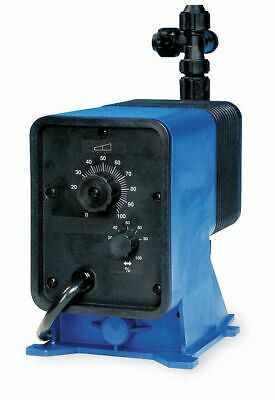 Pulsatron Diaphragm Chemical Metering Pump, Adjustable Output, 58.00 gpd Max.