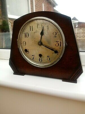 Antique Mantle Clock With Westminster Chimes