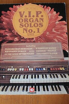 VIP Organ Solos No. 1  -  for all Organ