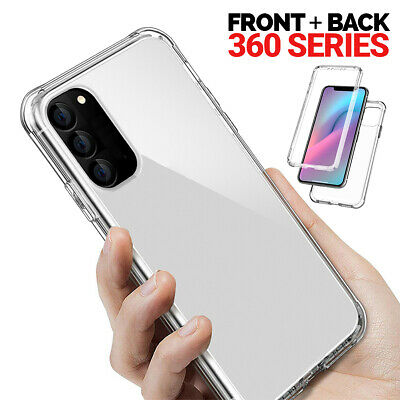 360 CLEAR Case For Samsung Galaxy S20 Plus Ultra 5G S10 S9 S8 S7 Silicone Gel