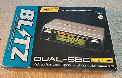 Blitz Sbc Dual Dsbc Electronic Boost Controller Type S Brand New In Box
