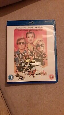 Once upon a time in hollywood blu ray 4k