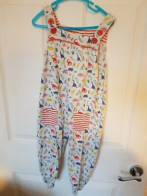 Boden Dinosaur Dungarees (2-3 years)