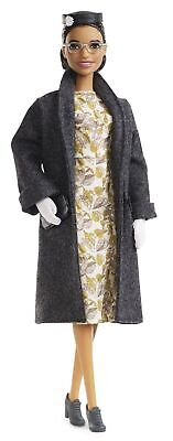 Barbie Inspiring Women Series Rosa Parks Collectible Barbie Doll, Wearing Fa...