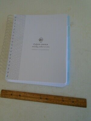 Clean Mama Daily Planner New